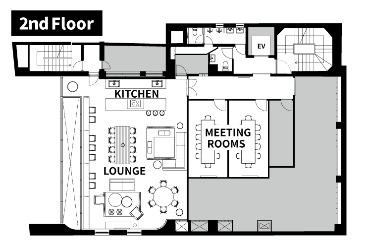 2nd Floor map